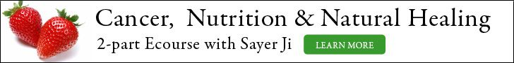 Cancer, Nutrition and Natural Healing Event