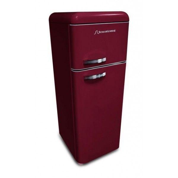 Schaub lorenz dtf15055r 8090 koelkast rood foto schaub lorenz benelux schaub lorenz - Koelkast groen ...