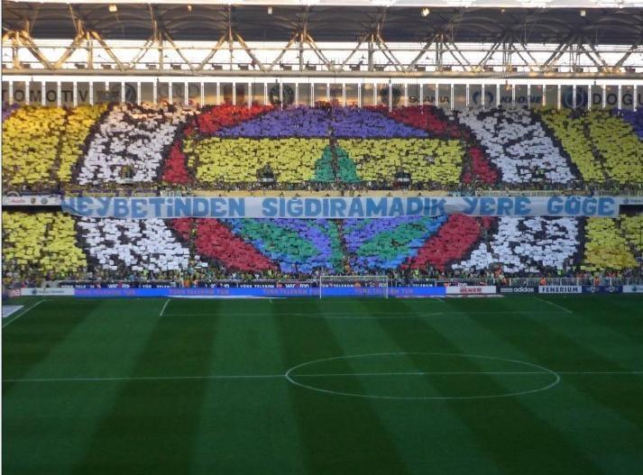 Fenerbahçe Fans' Choreography