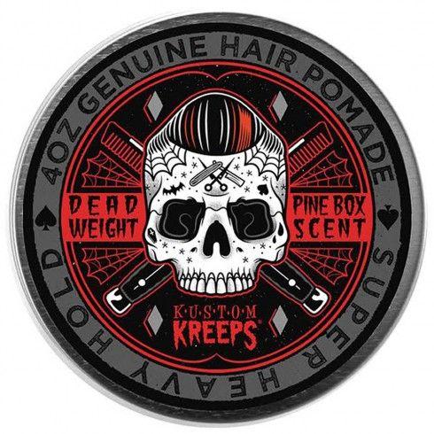 Kustom Kreeps Dead Weight (Super Heavy) Hold Hair Pomade