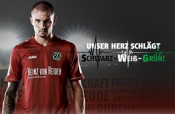 Hannover 96 Jako 2014/15 Home, Away and Third Kits