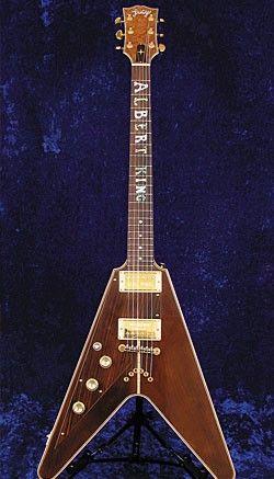 The guitar that made Jimi Hendrix cry. Albert King's Flying V  |  www.errico.com
