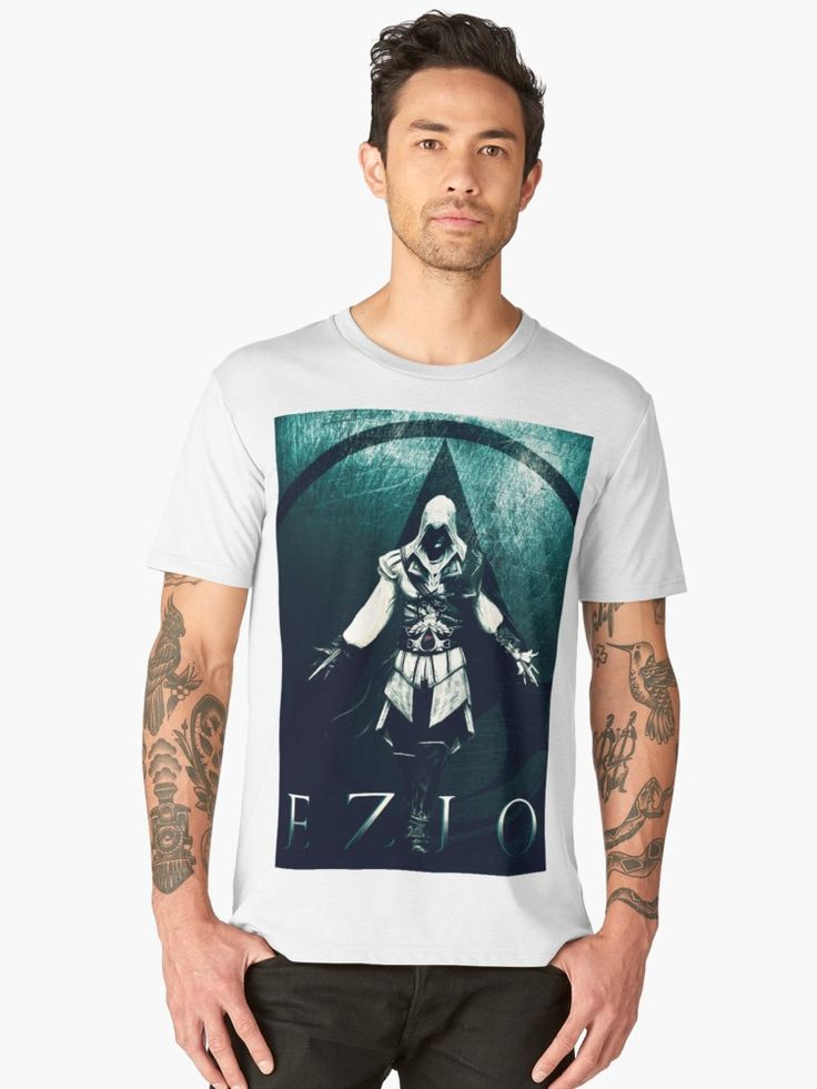 Save 20% on original gifts for original people. Use ORIGINAL20. Ezio Auditore  T-Shirt . #tshirt #sales #save #family #online #shopping #discount #gamer #gamertshirt #gamingtshirt #onlineshopping #redbubble #gifsforhim #giftsforhim #style #assassinscreedtshirt #ezioauditore #fashion #ps3 #popart #gaming • Also buy this artwork on apparel, stickers, phone cases, and more.