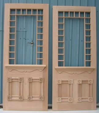 Historical Wooden Double Doors