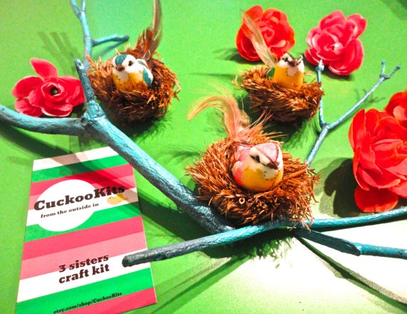 Our three sisters craft kit is a top seller! Everyone loves these nests! $20 at www.etsy.com/shop/CuckooKits