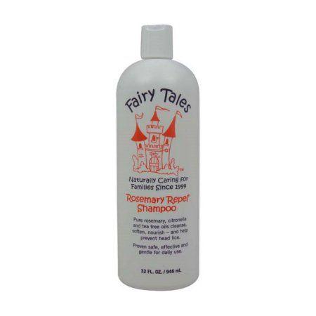 Fairy Tales Rosemary Repel Lice Treatment Shampoo, 12 oz., Red
