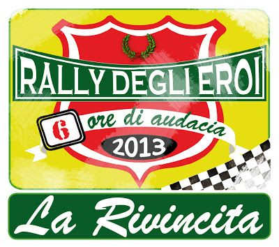 http://rallydeglieroi.blogspot.it/ #LaRivincita #RallydegliEroi @RobertoCattone