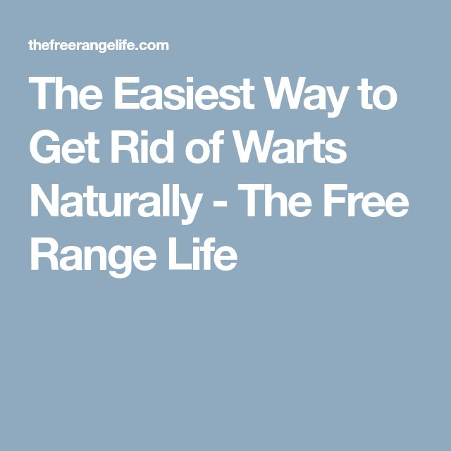 The Easiest Way to Get Rid of Warts Naturally - The Free Range Life http://wartremovetips.com/moles-on-face/