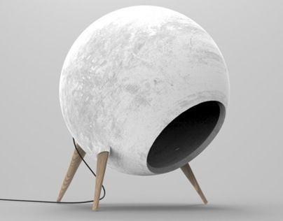 Concrete | Reader lamp