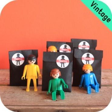 Playmobil-speldje + zakje en label -