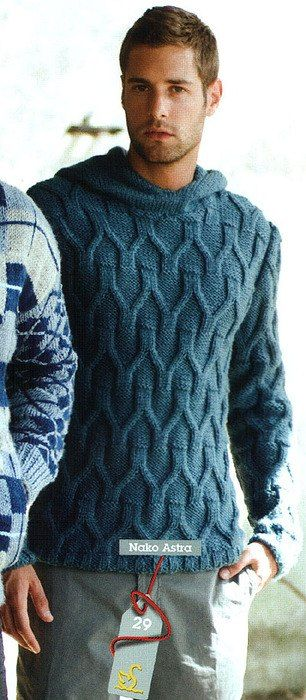 Beautiful texture, and masculine too. — James Cox Knits