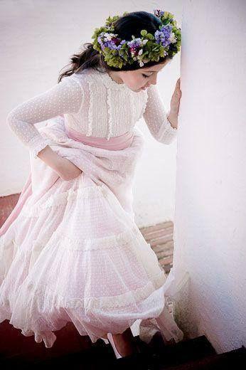 Maravillosa colección 2014 de vestidos de comunión para niñas de @PilarDelToro