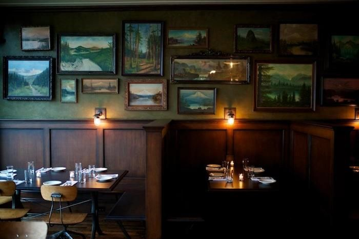 Nice picture display The Woodsman Tavern and Market in Portland, OR : Remodelista