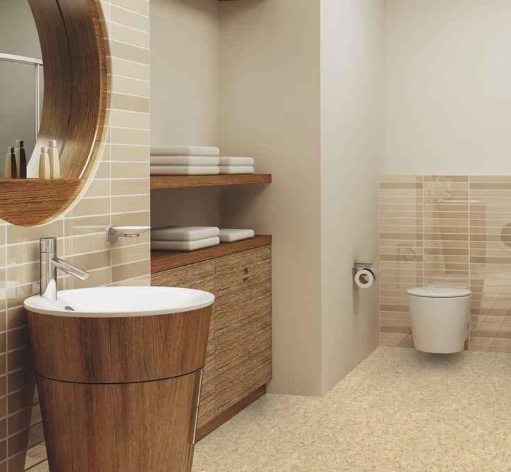 14 best Parquet images on Pinterest Flooring, Bedrooms and - parquet flottant special salle de bain