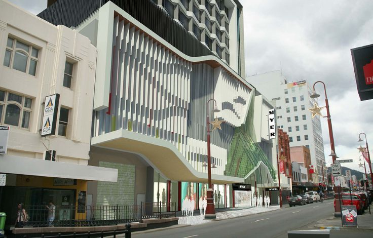 TAS / HOBART - #UC: Myer Icon Complex - 13st / 53m / mixed - Page 56 - SkyscraperCity