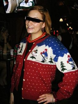 The Top 10 Ugliest Christmas Sweaters Ever: Fashion: glamour.com