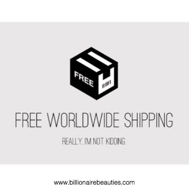 We now offer FREE SHIPPING WORLDWIDE! Shop now! 💃🏻👉🏼💃🏻👉🏼 billionairebeauties.com #solotica_melbourne
