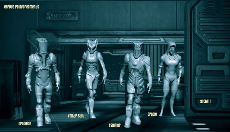 I figured it was time to review the various fan-models for Warframe I have in the works. I have more and none are completed yet. Corpus units are the ones I give the most attention. Mostly because ...