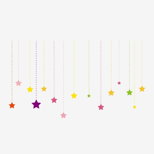 Little Stars Colored Stars Meteor Shower Little Star Decoration Cartoon Little Star Little Star Shading Little Stars Png And Vector With Transparent Backgrou Colour Star Meteor Shower Star Decorations