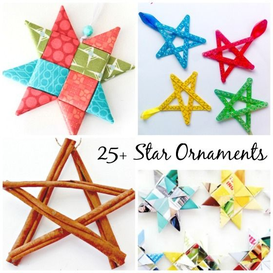 star ornaments for kids