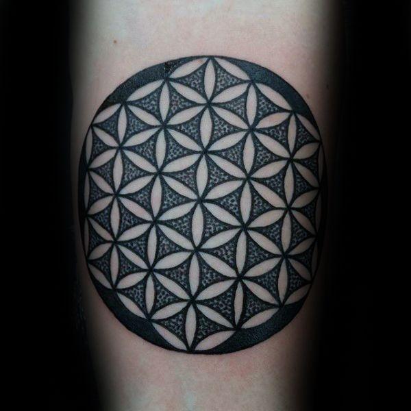 die besten 25 blume des lebens tattoo ideen auf pinterest blume des lebens mandala. Black Bedroom Furniture Sets. Home Design Ideas