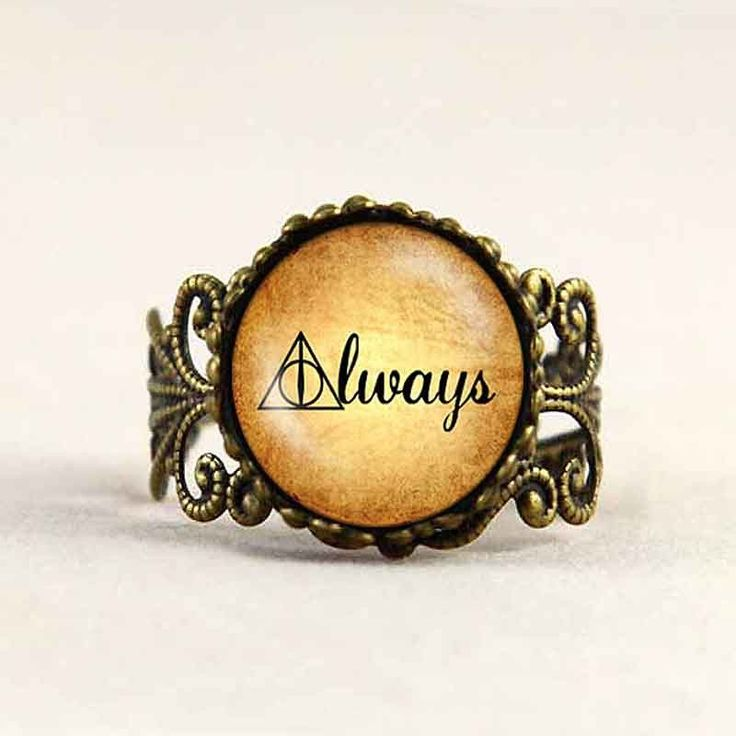 These Harry Potter Rings are suitable for all fans of #harrypotter Hogwarts. Cute, simple…