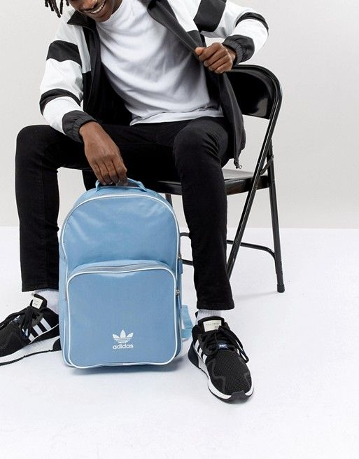 a04ee0481a1 adidas Originals adicolor Backpack In Blue CW0631 in 2019 | Men Fall ...
