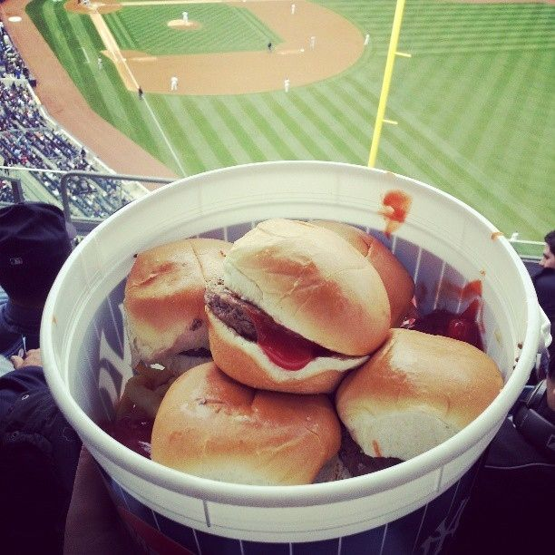 I'm a Mets fan, but now I know what I'll be ordering when we go see the Mets play the Yanks...Sliders Family Meal Deal — New York Yankees, Yankee Stadium