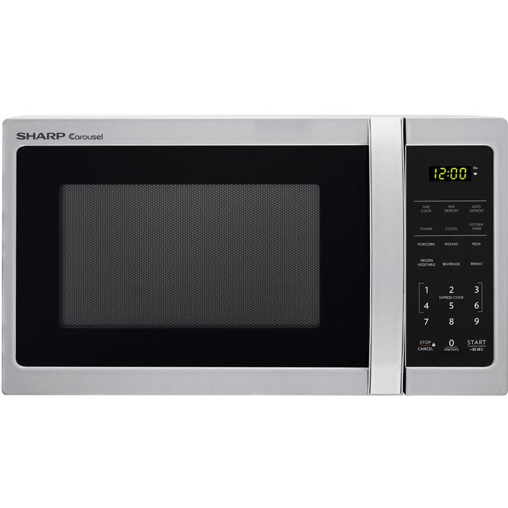 Ge 1 1 Cu Ft 950 Countertop Microwave Stainless Steel At Lowes