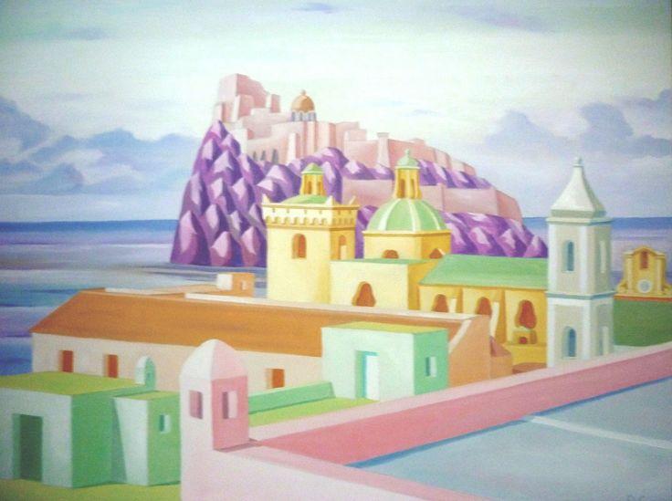 Il castello aragonese,Ischia.