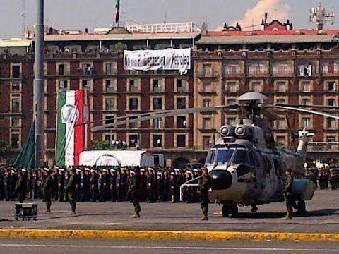 El berrinche de Peña Nieto en desfile militar del 20 de noviembre