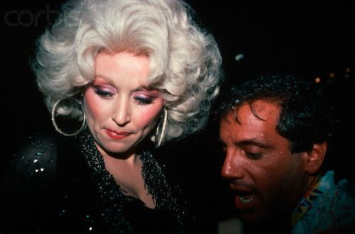 Dolly Parton and Steve Rubell ~ 1978