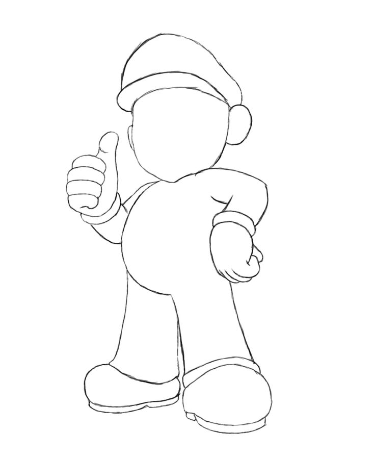 17 Best Ideas About How To Draw Mario On Pinterest