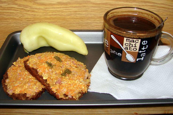Pomazánka z kuřecího masa s jablkami a mrkví