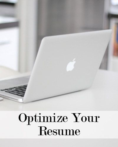 Great ideas on how to optimize your resume for your job search!