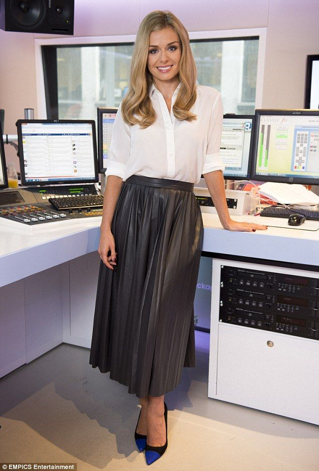 Looking good: Katherine Jenkins OBE was recently pictured at the Classic FM studios in cen...
