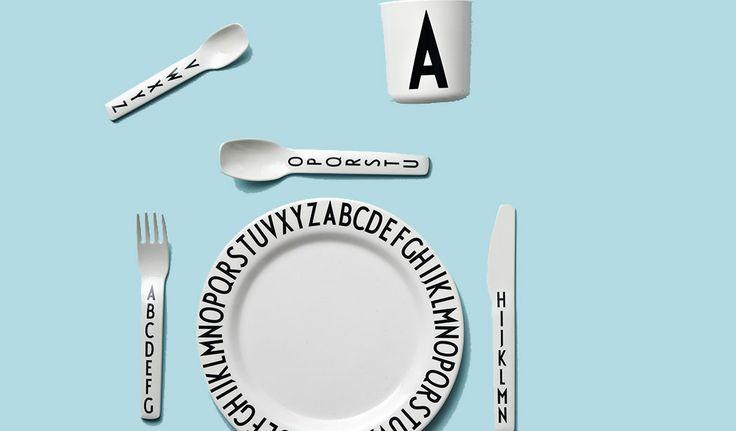 citiesocial – 丹麥 Design Letters 字母餐具與裝飾 簡約設計 自由組合 83折起 | 7/16結束