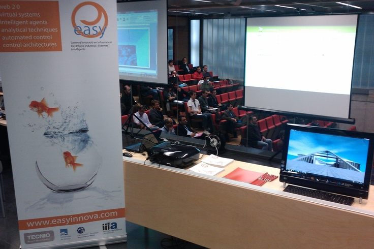 Conference about innovation in Girona