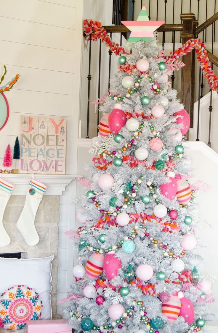 Whimsical Boho Christmas Tree Michaels Dream Challenge 2017 Diys Decorations