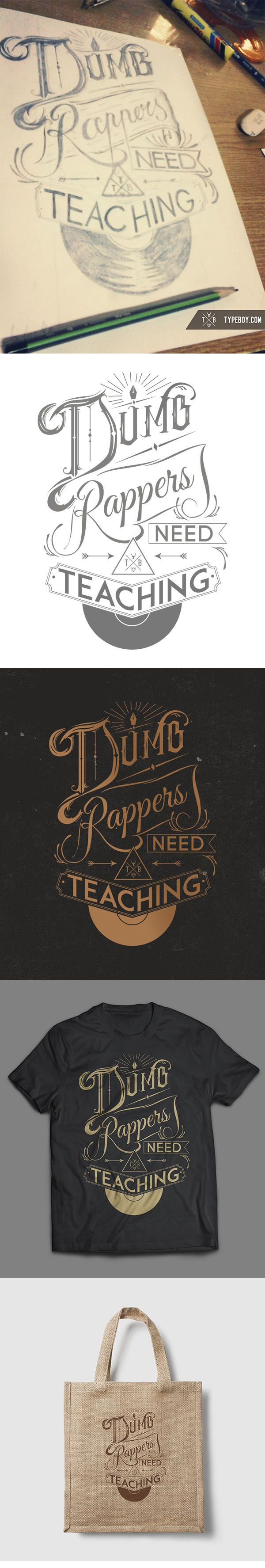 """Dumb rappers need teaching"" From scratch 