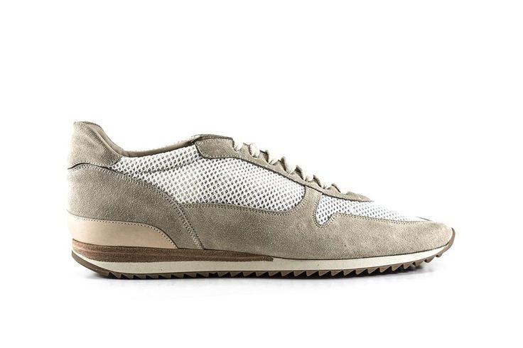 Sneakers Portonovo lino #franceschetti #franceschettishoes #madeinitaly #madeinmarche