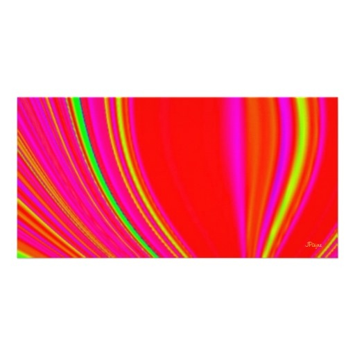 Bright Magic Digital Art Photo Card