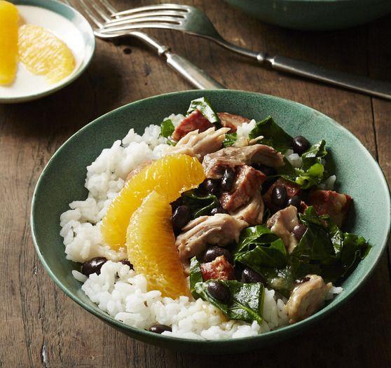 Brazilian Black Bean Stew #comfortfood #dinner #slowcooker
