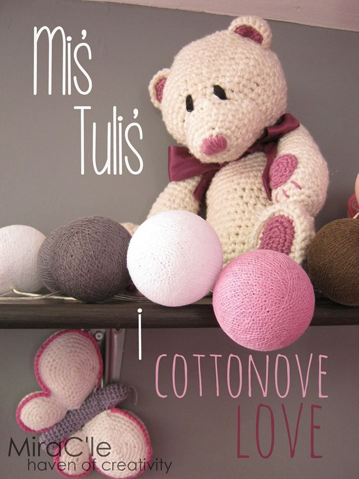 #cottonovelove.pl #cottonballlights