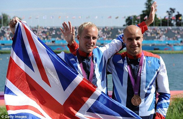 Liam Heath and Jon Schofield - Bronze - Men's K2 200m