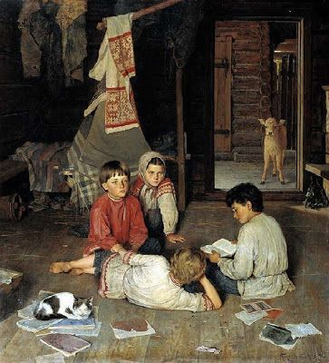 Reading and Art: Bogdanov-Belsky_Nikolay