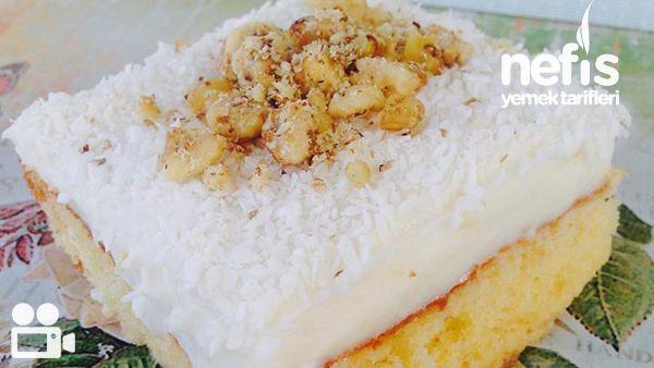 Videolu anlatım Gelin Pastası Tarifi nasıl yapılır? 9.603 kişinin defterindeki Gelin Pastası Tarifi'nin videolu anlatımı ve deneyenlerin fotoğrafları burada. Yazar: Aslıhan PELİT