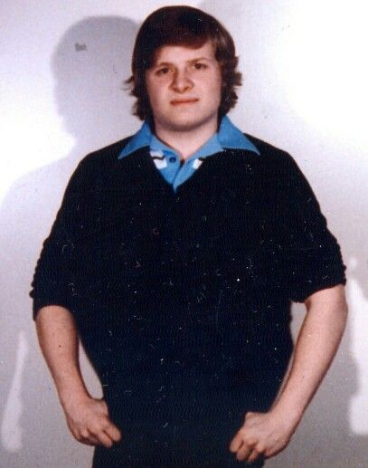 This is me in college. (1979)