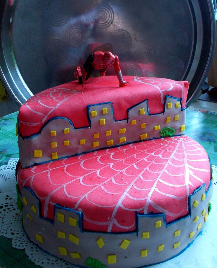 Торт SPIDER-MAN