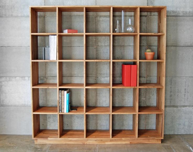 Organizing possibilities: Bookshelves, Bookcases, Laxseries 5X5, Studios Lax, Living Room, 5X5 Bookcase, Furniture